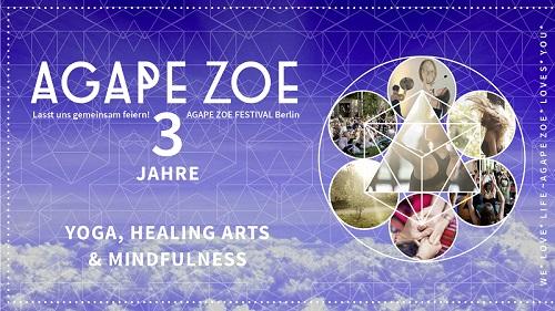 Agape Zoe 16. Berlin Festival: Samstag, 08. und Sonntag, 09. September