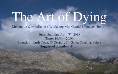 The Art of Dying, Sat. April 7th, 2018 in Palma, Mallorca