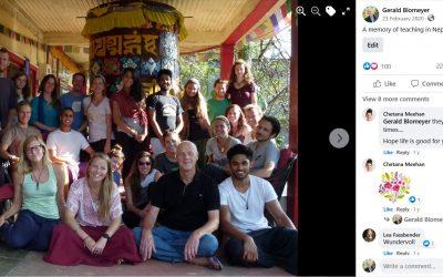 Teaching Meditation and Buddhism in Pokhara, Nepal 2011 – 2013